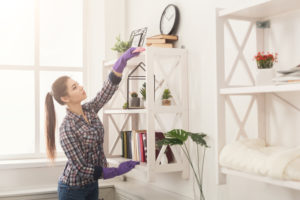 Minimize dust at home